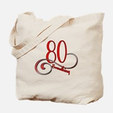 Cute 80 something Tote Bag