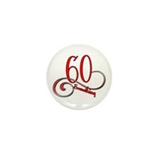 Cute 60 something Mini Button (10 pack)