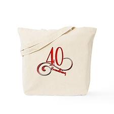 Cool 40th birthday fart Tote Bag