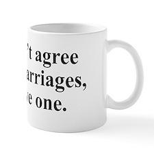 Don't agree Mug