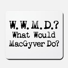 Vintage 90s MacGyver T.V. Series Mousepad