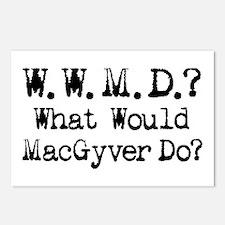 Vintage 90s MacGyver T.V. Series Postcards (Packag