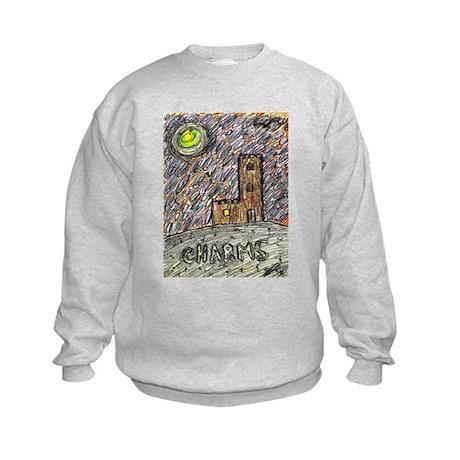 charms castle fantasy dreamlike Kids Sweatshirt
