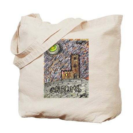 charms castle fantasy dreamlike Tote Bag