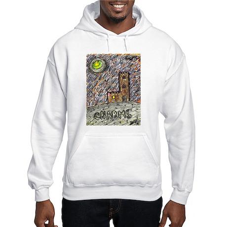 charms castle fantasy dreamlike Hooded Sweatshirt