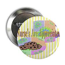 "Nurse's Coffee Break Appreciation 2.25"" Button (10"