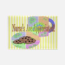 Nurse's Coffee Break Appreciation Rectangle Magnet