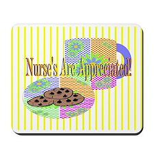 Nurse's Coffee Break Appreciation Mousepad