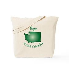 Baja British Columbia-Light Bgnd Tote Bag
