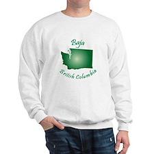Baja British Columbia-Light Bgnd Sweatshirt