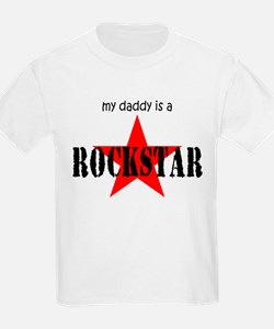 My Daddy is a Rock Star T-Shirt