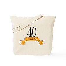 Unique 40th birthday fart Tote Bag