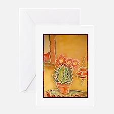 Cactus! Southwest art! Greeting Card