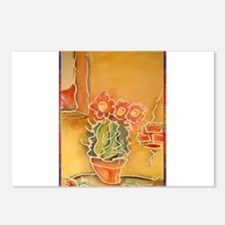 Cactus! Southwest art! Postcards (Package of 8)
