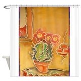 Cactus Shower Curtains