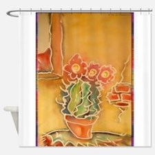 Cactus! Southwest art! Shower Curtain