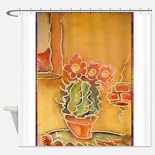 Cactus! Southwest art! Shower Curtain