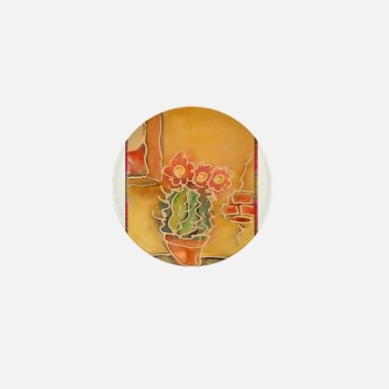 Cactus! Southwest art! Mini Button