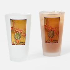Cactus! Southwest art! Drinking Glass