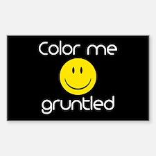 Gruntled Decal
