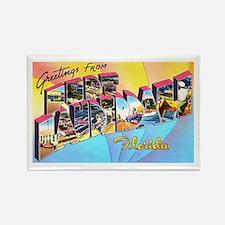 Fort Lauderdale Florida Greetings Rectangle Magnet
