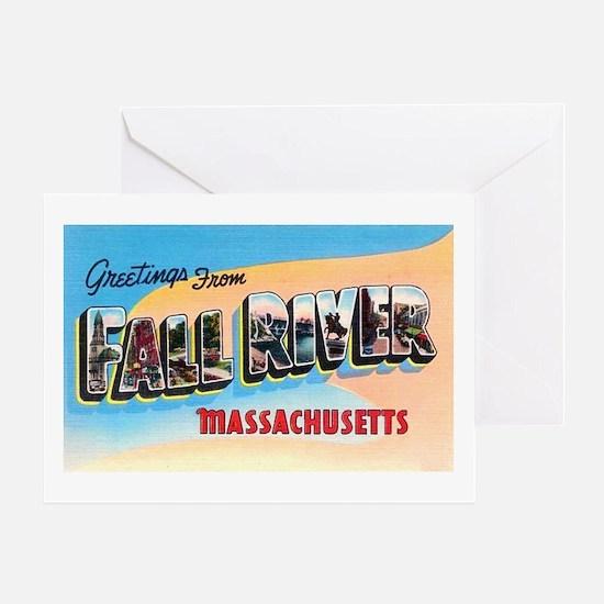 Fall River Massachusetts Greetings Greeting Card
