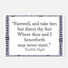 Farewell, And Take Her Postcards (Package of 8)