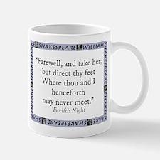 Farewell, And Take Her Mug