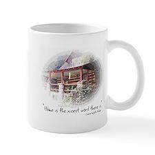 Home is the Nicest Word Mug