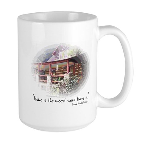 Home is the Nicest Word Large Mug