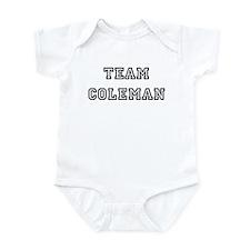 TEAM COLEMAN Infant Creeper