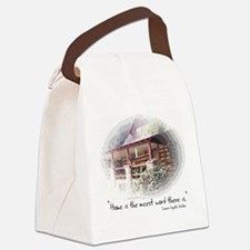 Home is the Nicest Word Canvas Lunch Bag