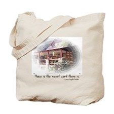 Home is the Nicest Word Tote Bag