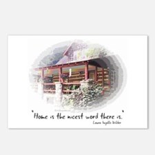 Home is the Nicest Word Postcards (Package of 8)