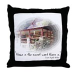 Home is the Nicest Word Throw Pillow