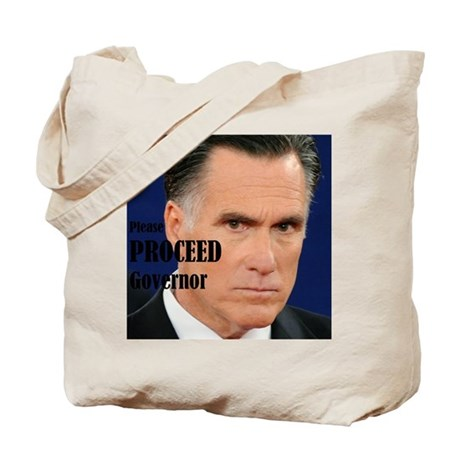 Please Proceed Governor Tote Bag