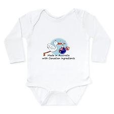 Stork Baby Australia Canada Body Suit