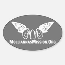 Mollianna's Mission Inc. Sticker (Oval)