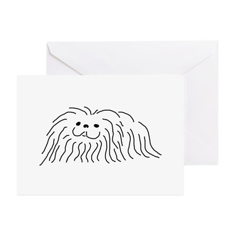 Pekingese Greeting Cards (Pk of 10)