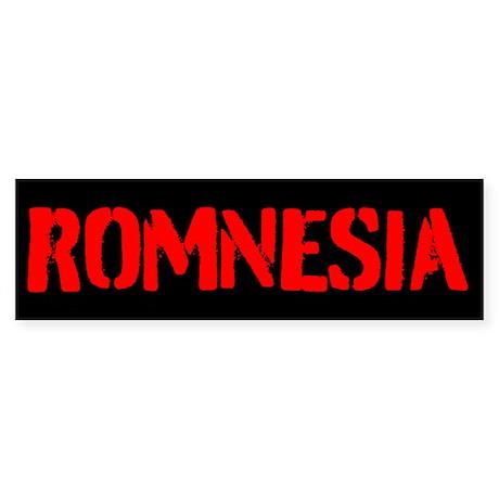 ROMNESIA Sticker (Bumper)