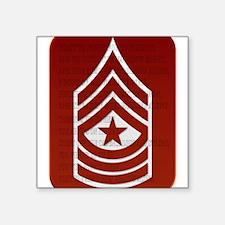"Army Square Sticker 3"" x 3"""