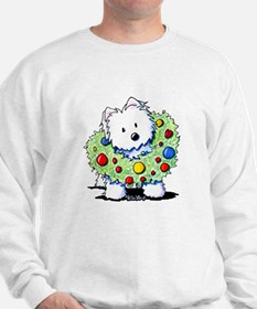 Westie Wreath Sweatshirt