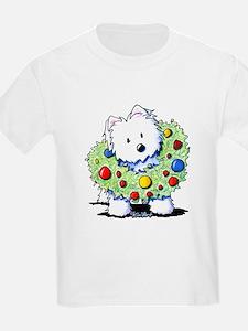 Westie Wreath T-Shirt