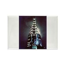 Chrysler Building: Night Rectangle Magnet