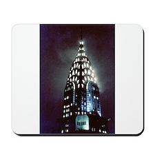 Chrysler Building: Night Mousepad
