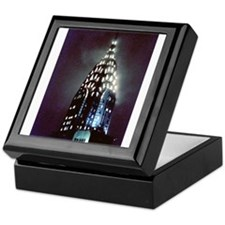 Chrysler Building: Night Keepsake Box