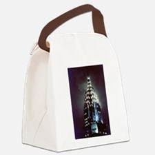 Chrysler Building: Night Canvas Lunch Bag