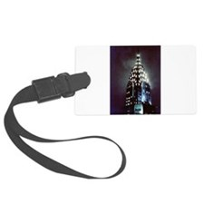 Chrysler Building: Night Luggage Tag