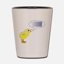 Chirp Shot Glass