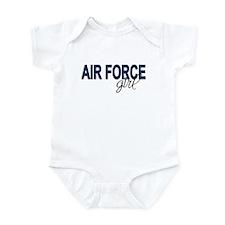 Air Force girl Infant Creeper